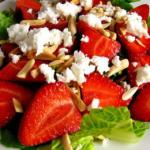 Ανοιξιάτικη σαλάτα με φράουλες